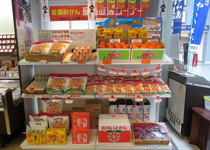 旬の柑橘 松山空港のお土産