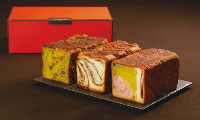 マーブルデニッシュ食パン/京都祇園ボロニヤ お取り寄せパン