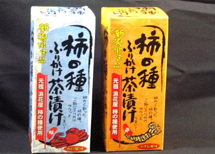 柿の種ふりかけ茶漬け 新潟駅のお土産