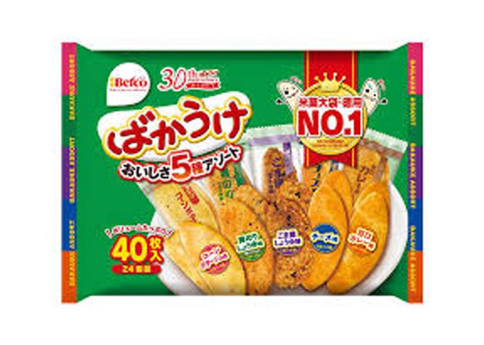 ばかうけ/栗山米菓 新潟駅のお土産