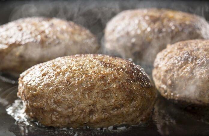 牛肉100%ハンバーグ/鳥益マーちゃんマート お取り寄せグルメ 肉
