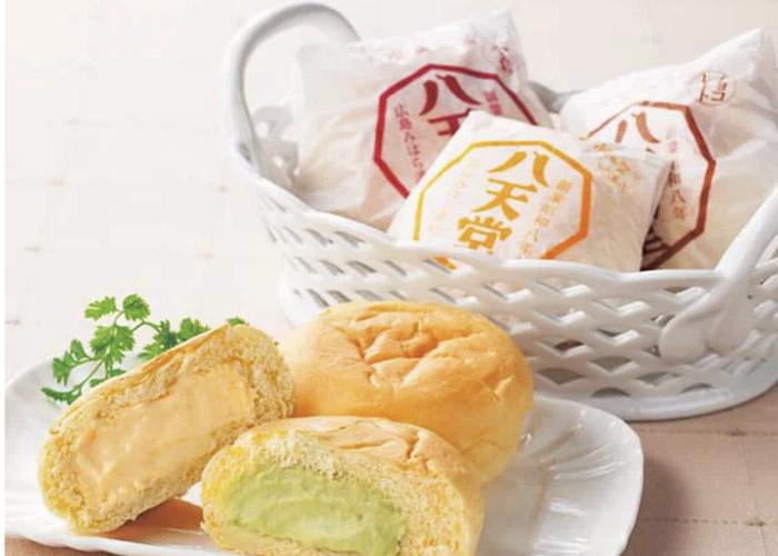 くりーむパン/八天堂 広島駅のお土産
