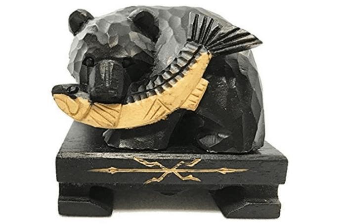 木彫りの熊 女満別空港のお土産