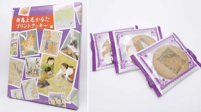 上毛かるたプリントクッキー/つるまい本舗 高崎駅のお土産