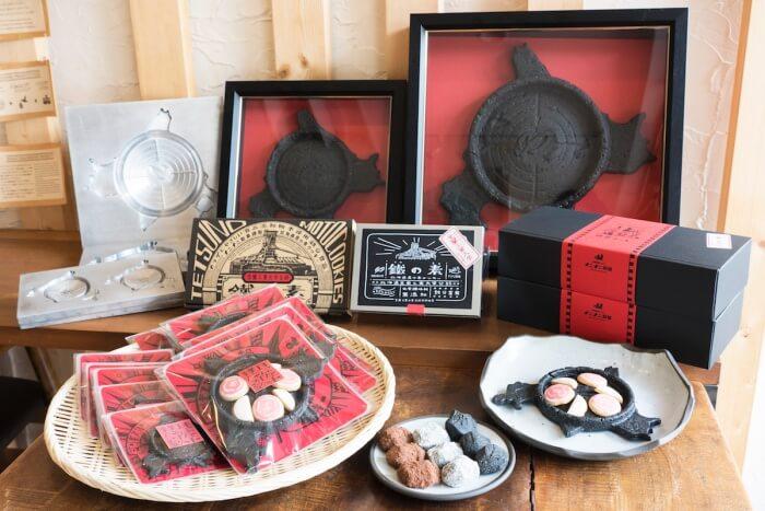鐡の素クッキー/ナニナニ製菓 室蘭のお土産