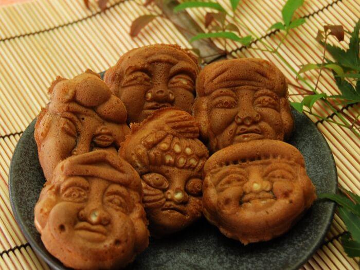 人形焼き/人形焼き本舗板倉 人形町のお土産