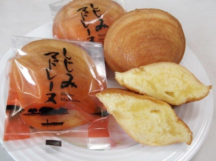 しじみマドレーヌ/ケーキハウスアガート 島根のお土産