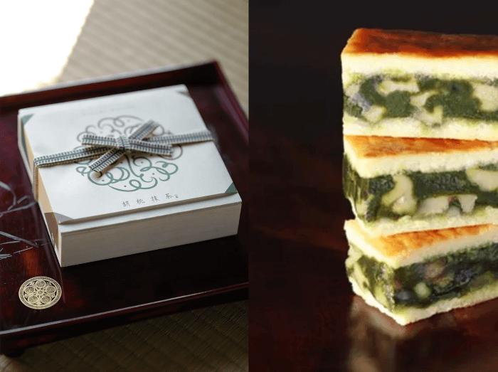 キャラメルサンドクッキー胡桃抹茶/日本茶菓SANOA 新宿伊勢丹の人気お土産