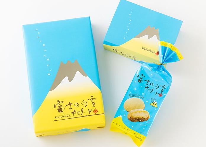 富士の白雪カスタード/土井製菓 静岡お土産