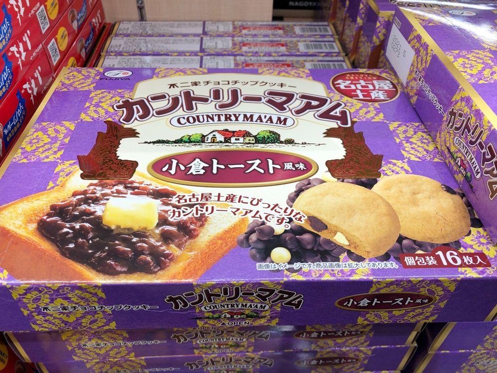 カントリーマアム 小倉トースト味/不二家 名古屋駅のお土産