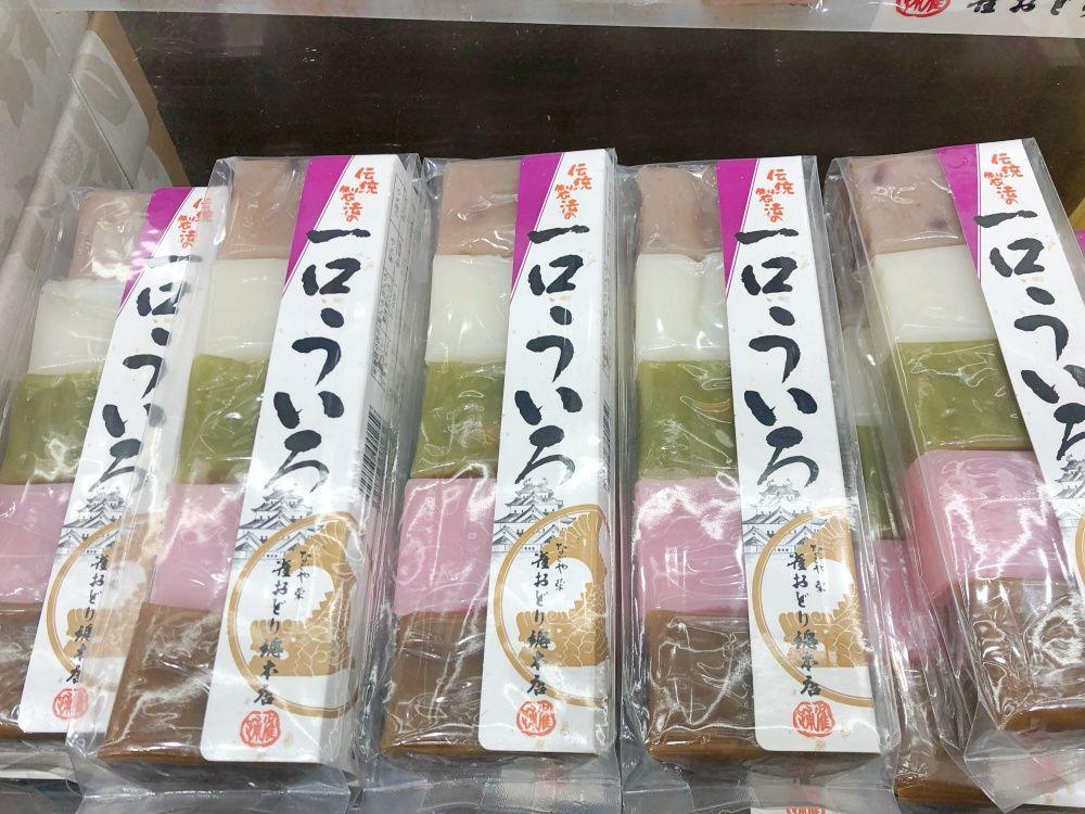 一口ういろ/雀おどり總本店 名古屋駅のお土産
