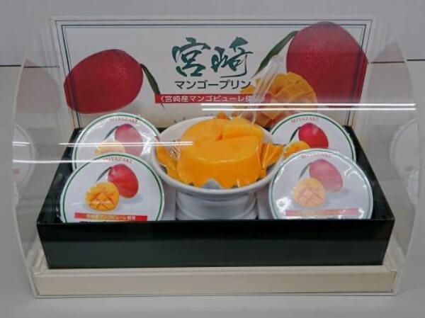 宮崎マンゴープリン/九州産商 宮崎のお土産 (1)