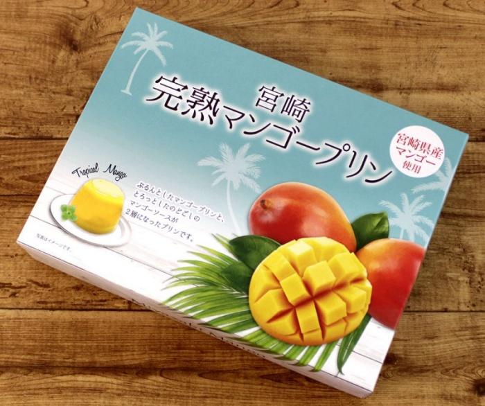 完熟アップルマンゴープリン/宮交ショップアンドレストラン 宮崎空港お土産