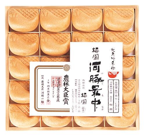 河豚最中/梅園 北九州・小倉のお土産