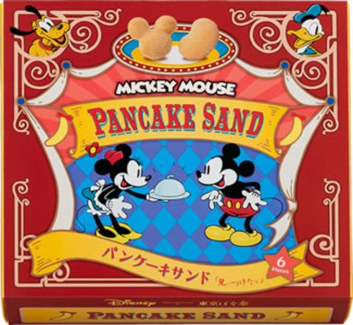 ミッキーマウスパンケーキサンド/ディズニースイーツコレクションby東京ばな奈 東京お土産