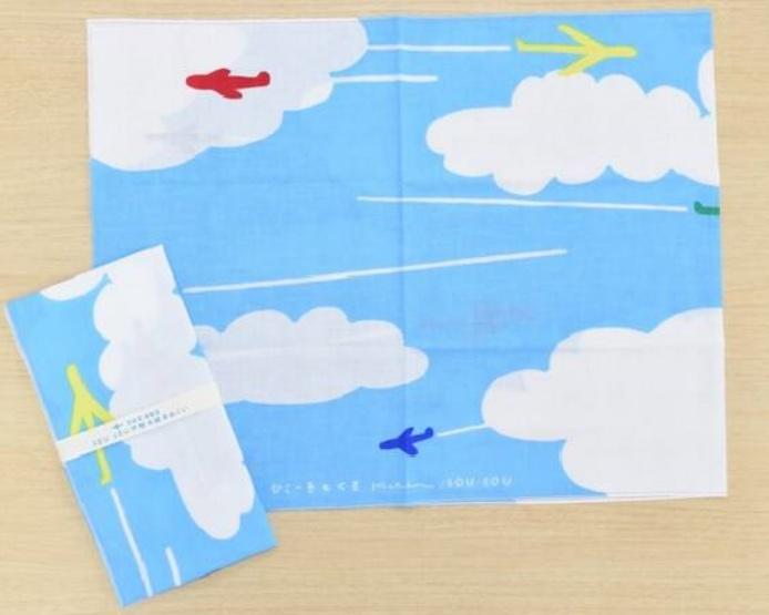 手拭い飛行機/SOUSOU 東京のおすすめお土産