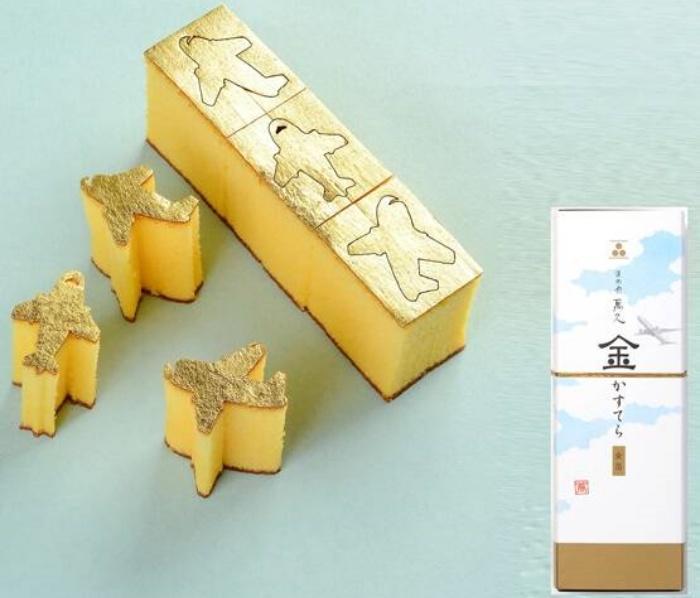 金カステラ飛行機/まめや金澤萬久 東京のおすすめお土産
