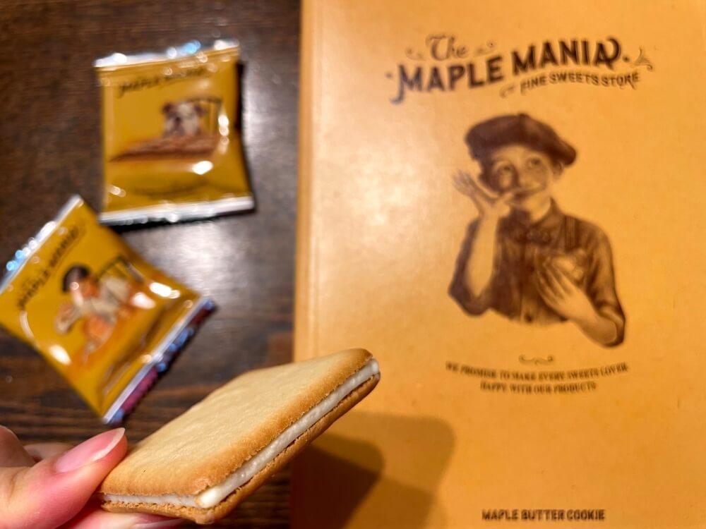 メープルバタークッキー/ザ・メープルマニア 東京のお土産