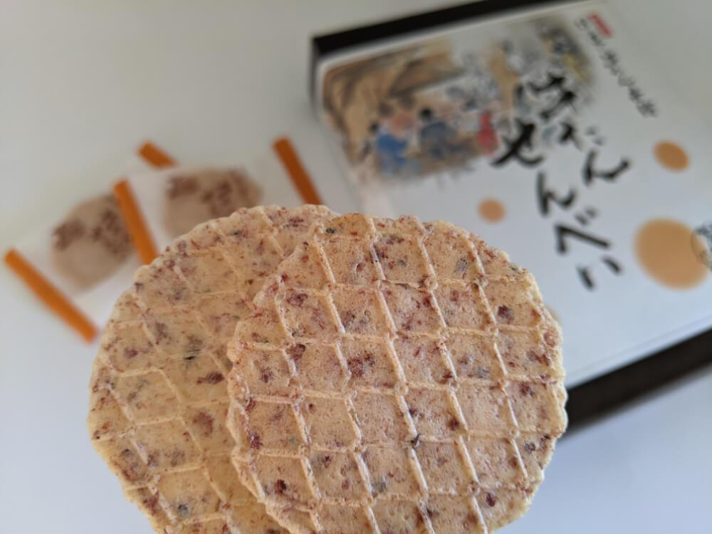 牛たんせんべい/伊達の牛たん本舗 仙台のお土産