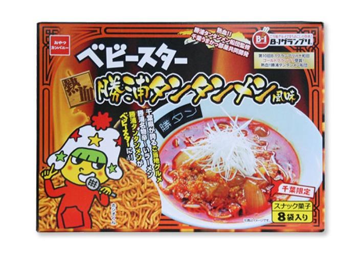 ベビースター勝浦タンタン麺風味/おやつカンパニー 勝浦のお土産