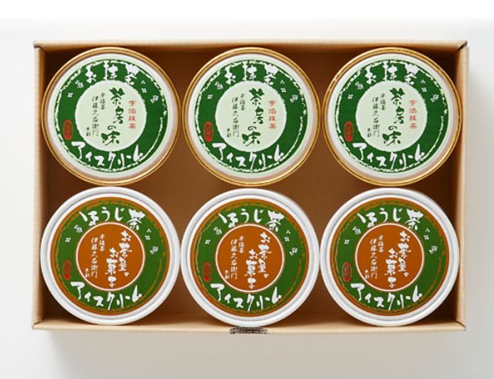 宇治抹茶アイスクリーム/伊藤久右衛門 京都の人気お取り寄せグルメ