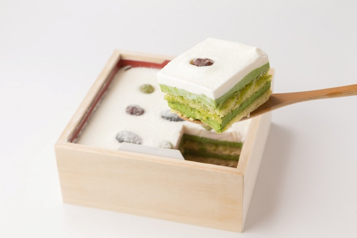 絹ごし緑茶茶てぃらみす/一乗寺中谷 京都の人気お取り寄せグルメ