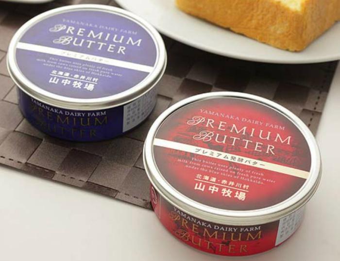 プレミアム発酵バター/山中牧場 北海道お取り寄せグルメ