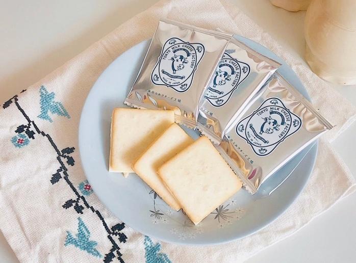 ソルト&カマンベールクッキー/東京ミルクチーズ工場 渋谷の手土産
