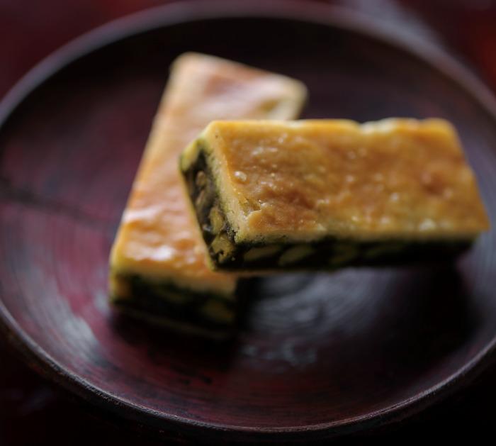 キャラメルサンドクッキー胡桃抹茶/日本茶菓SANOAH 新宿のおすすめ手土産