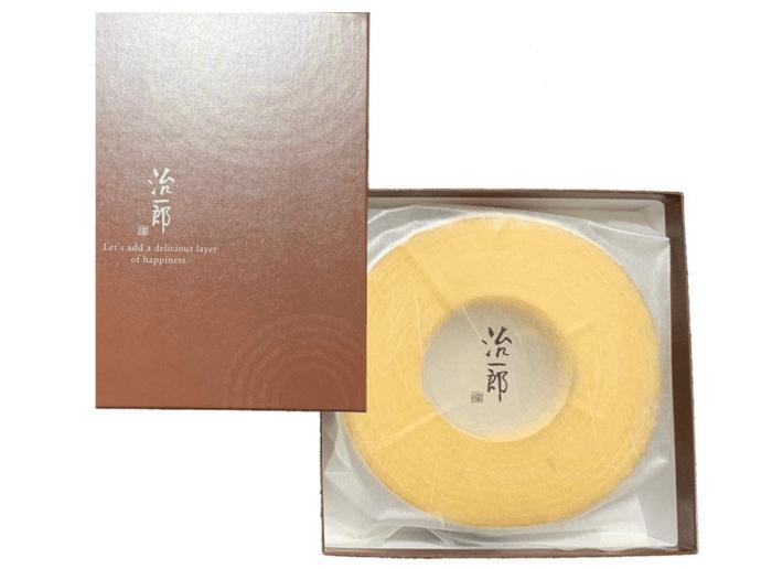 バームクーヘン/治一郎 新宿のおすすめお土産