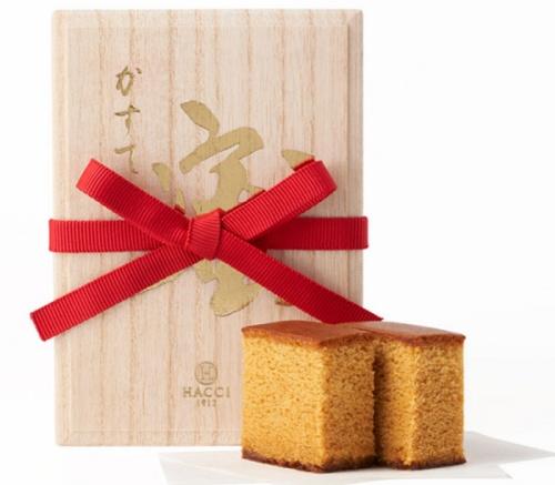 蜜カステラ焦がし蜂蜜/HACCI 銀座手土産