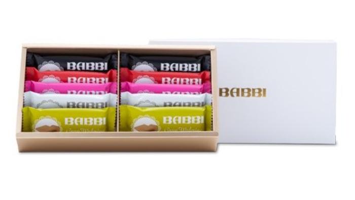 グランワッフェリーニセット/BABBI 銀座手土産