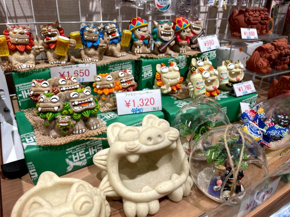 シーサー雑貨 沖縄国際通りのお土産